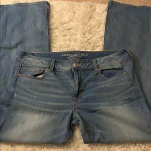 American Eagle Kick Boot Jeans LONG